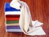 Hochflausch-Schal mit Rippenmuster