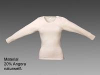 Damen-Hemd mit langem Arm und schöner Spitze