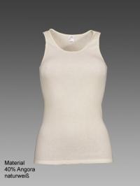 Damen-Hemd ohne Arm mit Spitze