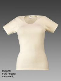 Damen-Hemd 1/2 Arm mit Spitze