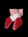 Kuschelige Fußwärmer mit 75% Angora für Babys und Kinder
