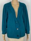 Jacke mit Schalkragen in Farbe silbergrau meliert
