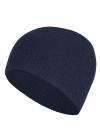 Angora-Mütze - klassisch in Wellenmuster-Optik