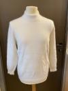 Shirt mit langem Arm in weiß