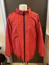 Rote wasserabweisende Jacke für Herren